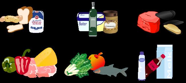 koolhydraten eiwitten