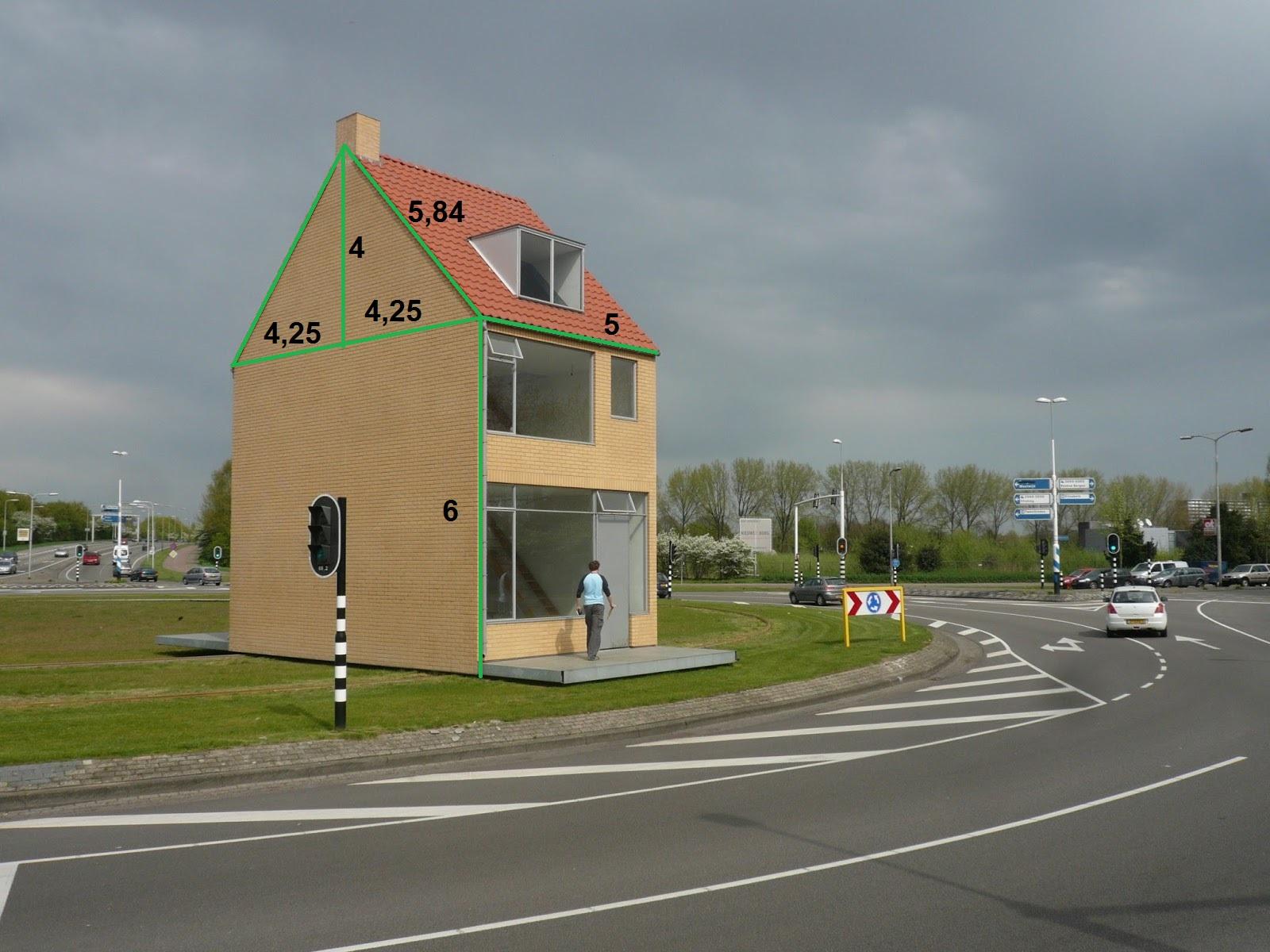 Draaiend huis hasseltrotonde tilburg lesmateriaal wikiwijsleermiddelenplein - Zie in het moderne huis ...